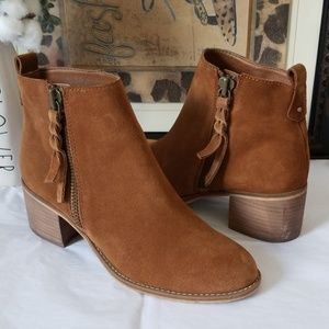 🍂 BP Suede Ankle Bootie